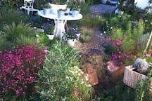 Fragrant  memorial garden