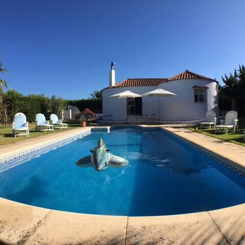 Holiday house in Roche Conil with private pool - Conil de la Frontera - Casa