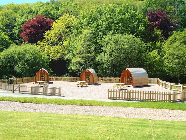 Glamping Pod at Hele Valley, Ilfracombe