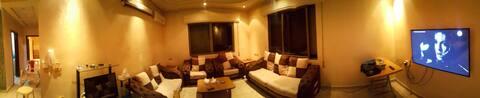 Private room in a shared villa