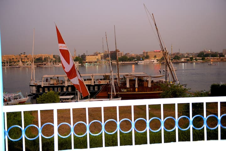 Luxor guest house - Double Room Nile View