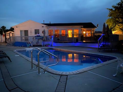 Bay beach pool house open year round