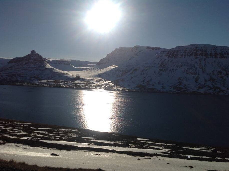 Winter view over Sudavik