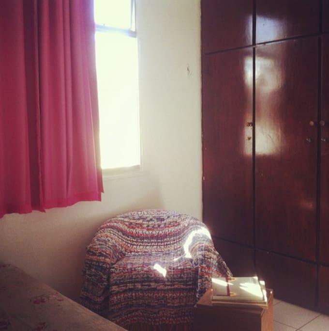 detalhe quarto, armários