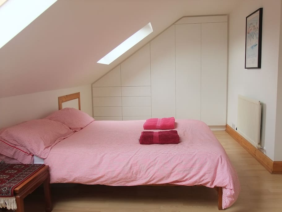 Double Bedroom with fitted wardrobes and drawers