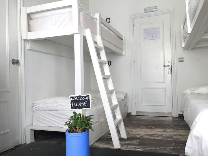 La Cocotera Boutique Hostel & Coworking | Hab. Familiar con baño privado, 4 personas