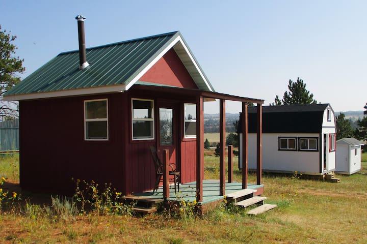 The Cabin at Bare Bones Bivouac