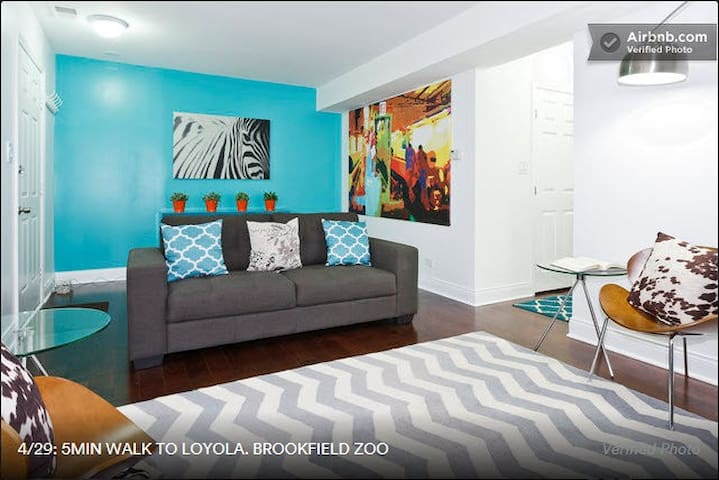 5MIN WALK TO LOYOLA. BROOKFIELD ZOO - Maywood - Appartement