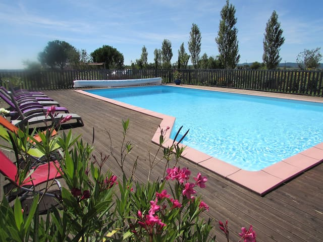 Gite of charm with swimming pool  - Lacapelle-Ségalar - Casa