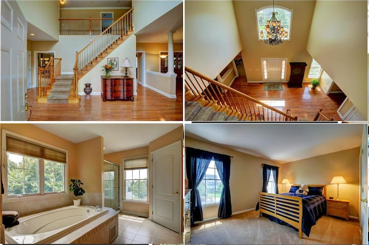 Monthly Rental-Luxury House in Princeton Area