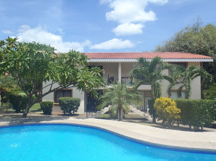 Condo is located on the top left.  Just a quick 3 minute walk to the beach!!!