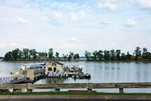 Percy Priest Boat Rental 1/2 Mile away