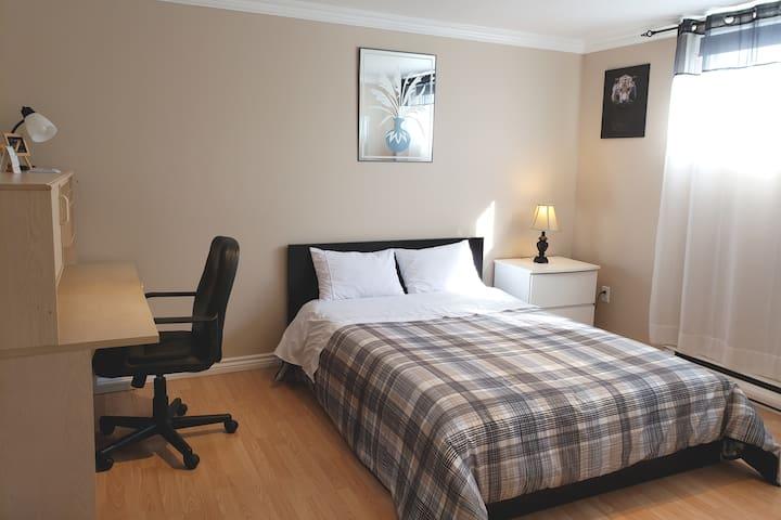 Chambre privée confortable