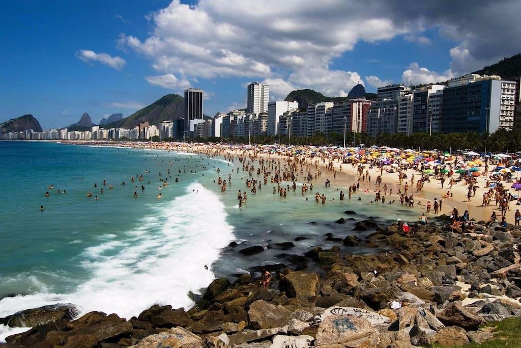 Ipanema beach (easy acess by metro)