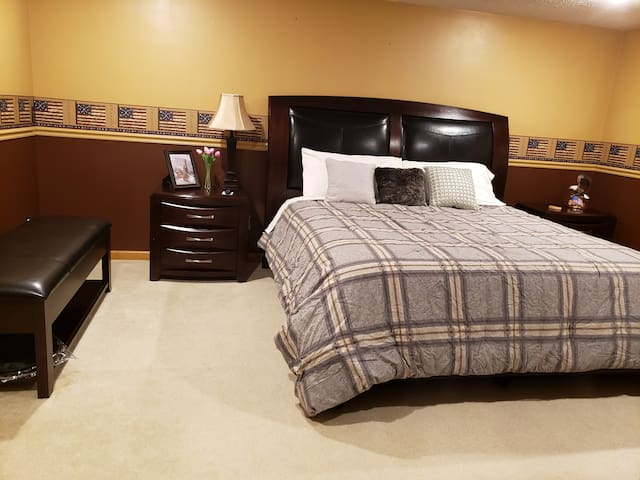 Entire Basement with 2 Bedrooms & Private bathroom