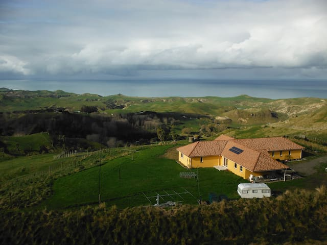 Kiwi-DX-Lodge - The Queen Room - Havelock North - Bed & Breakfast