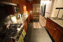 The Kitchen is brand new with commercial grade appliances...a wonderful place to cook!