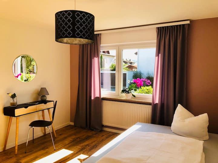Gästezimmer am Hochrhein, (Lauchringen), Doppelzimmer mit Gemeinschaftsbad