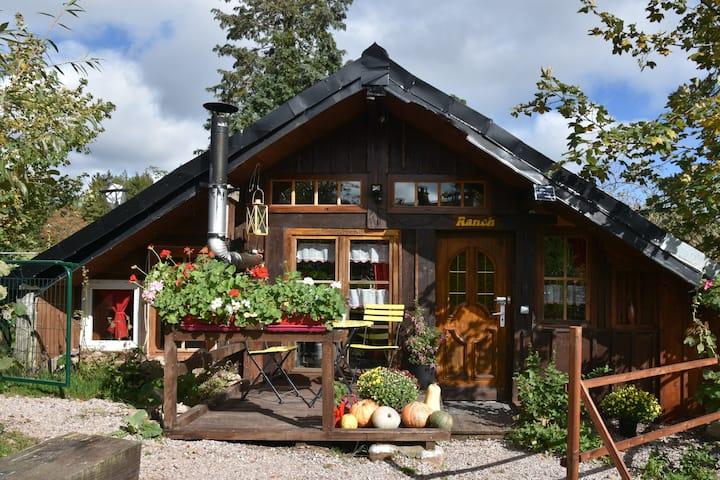 Holzfäller Hütte