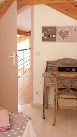 Une chambre romantique...
