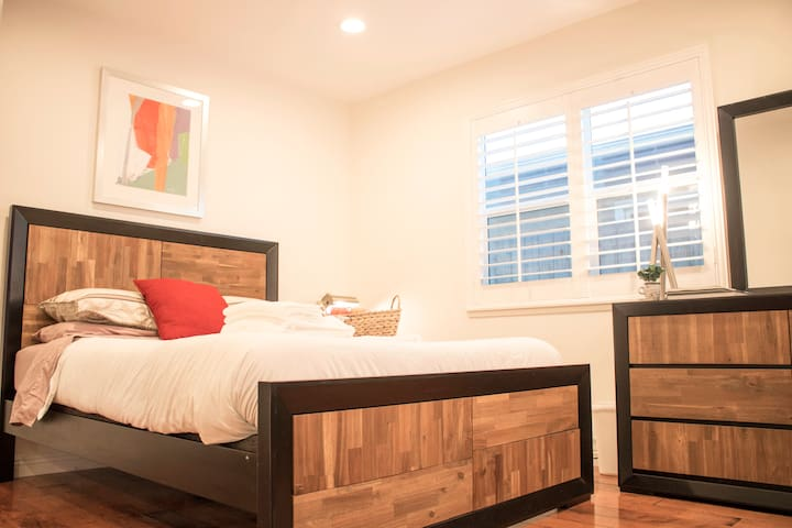 Delight in a Soft Warm and Quiet Remodeled Bedroom