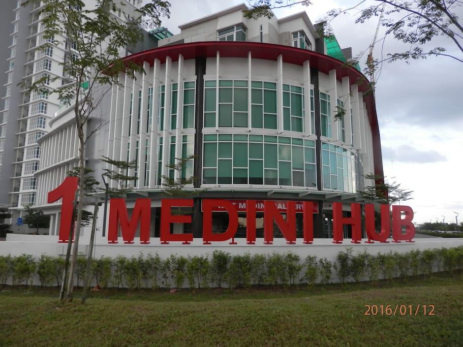 1 Medini Hub Residences-Offices-Mall@Nusajaya Johor