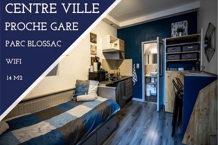 ✅🆒 COSY studio /  Parc BLOSSAC / Proche GARE 🆒✅