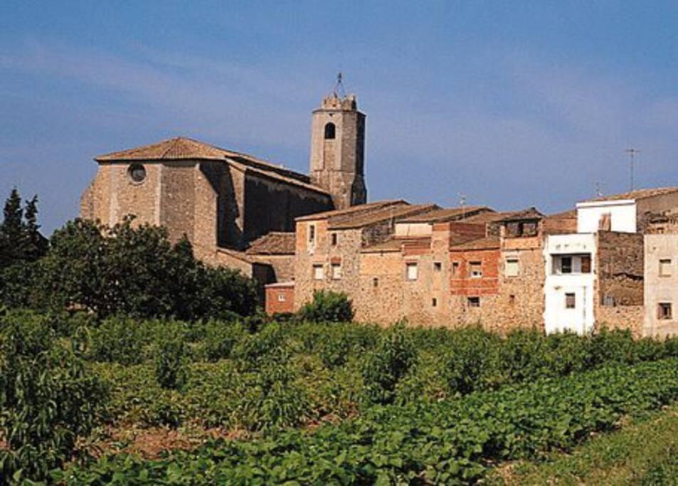 El pueblo L'Armentera