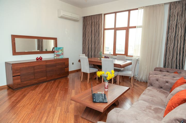 Quirky and Modern Flat(127 м²)in Downtown Baku