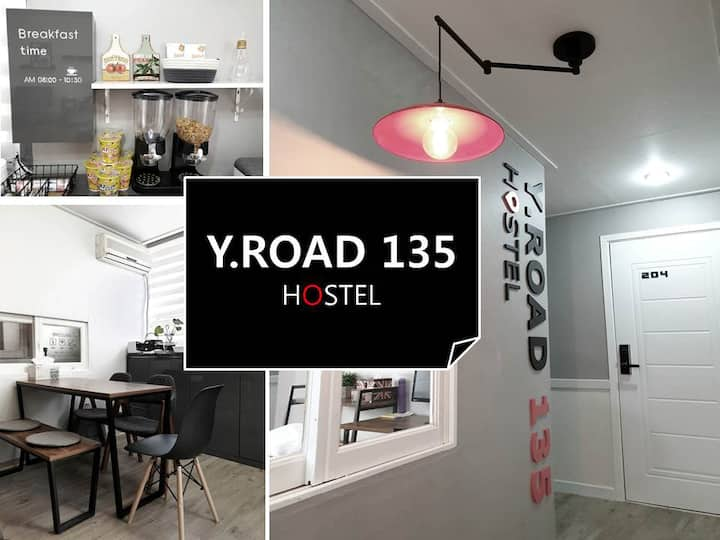 Y.ROAD 135 [*Twin room] Yangpyeong stn. Line 5
