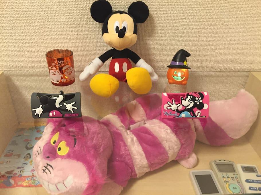 Disney & free pocket Wifi 移动Wifi 随身携带