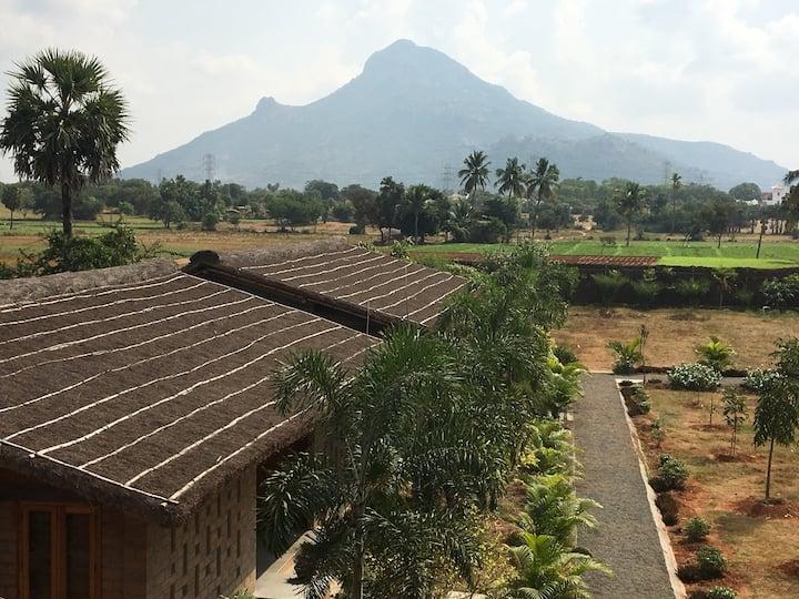 Arunadri Retreat Centre (Room 3 of 8) - AC/WiFi