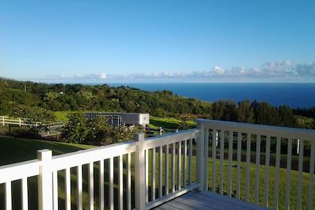 Spectacular views - Honokaa - Casa
