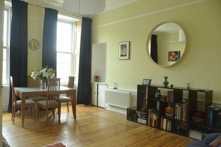 Bright & spacious artistic central flat - Edinburgh - Apartment