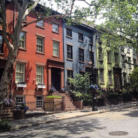Charming 1 Bedroom on the best block in BK Heights