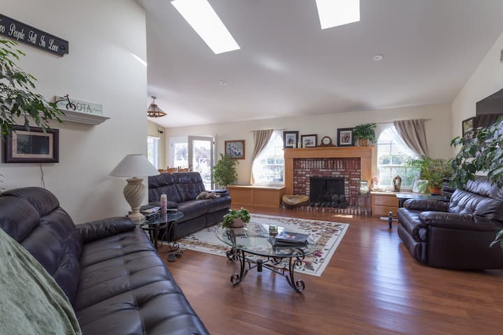 2 beautiful rooms in our 4 bedroom home