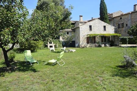 le mas du figuier et son grand jardin indépendant - ORGNAC L'AVEN