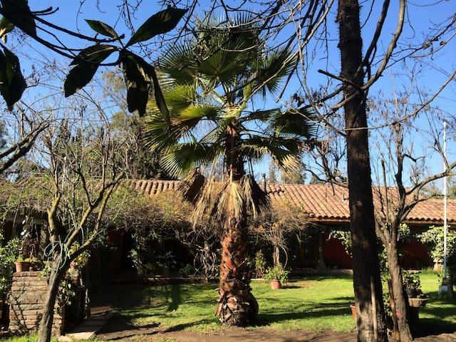 Casa de campo  Completa 30 minutos centro Santiago - Santiago