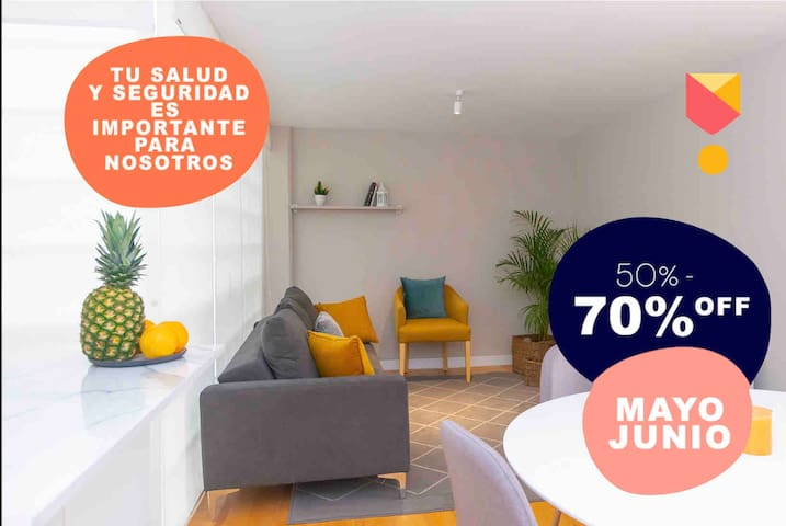 Modern apartment!! Excellent opportunity Del Valle