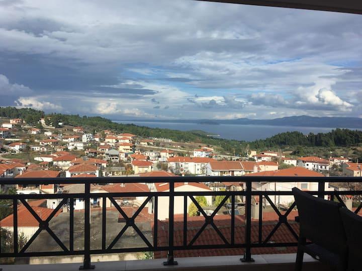 Halkidiki AMAZING VIEW Apartment