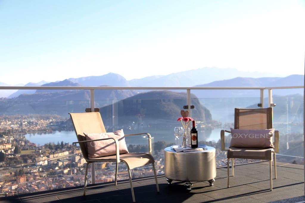 Loft Mirage on lake Lugano