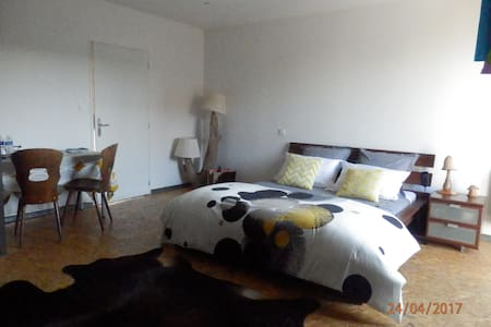 Large suite in Autun with private terrasse+parckin - Autun - ลอฟท์