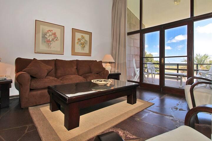 Apartamento para 4 personas con terraza y piscina