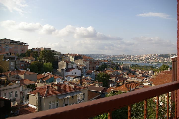 Golden Horn Sea and Old City Viewing Terrace