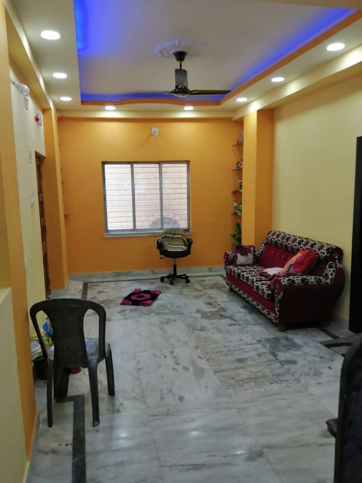 New,furnished,well-ventilated 2 bed room apartment