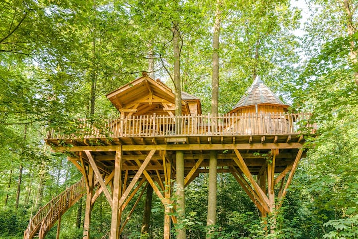 Cabane SPA Tribu pour 5 personnes