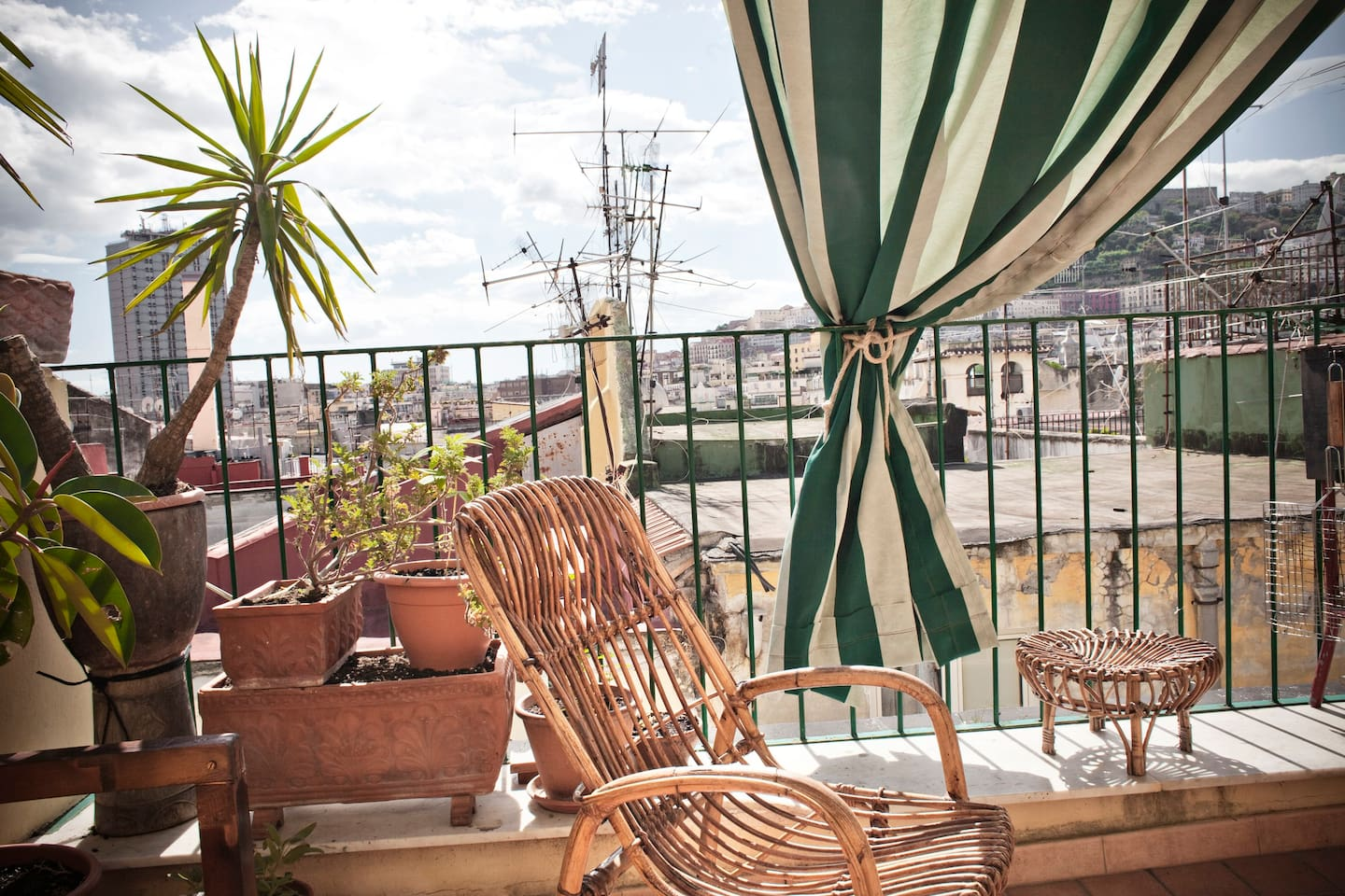 Set your watch to a different timing concept. Relax on the terrace and enjoy silence, an amazing view and south italy's  lifestyle