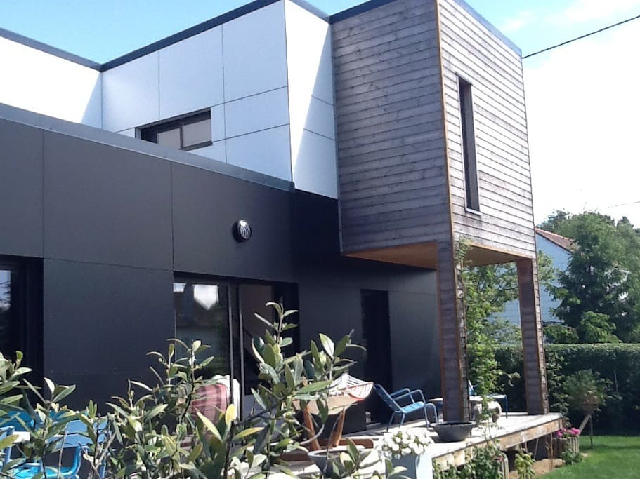 La terrasse de la maison