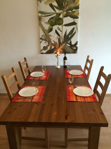spacious, friendly Apartment Lorsch - Lorsch - Appartement