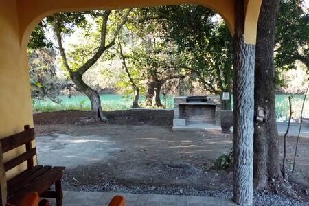 Paraíso en Huasteca Potosina, Cabaña Amarilla PA
